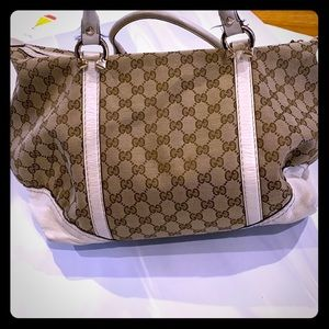 Gucci medium tote with top handles